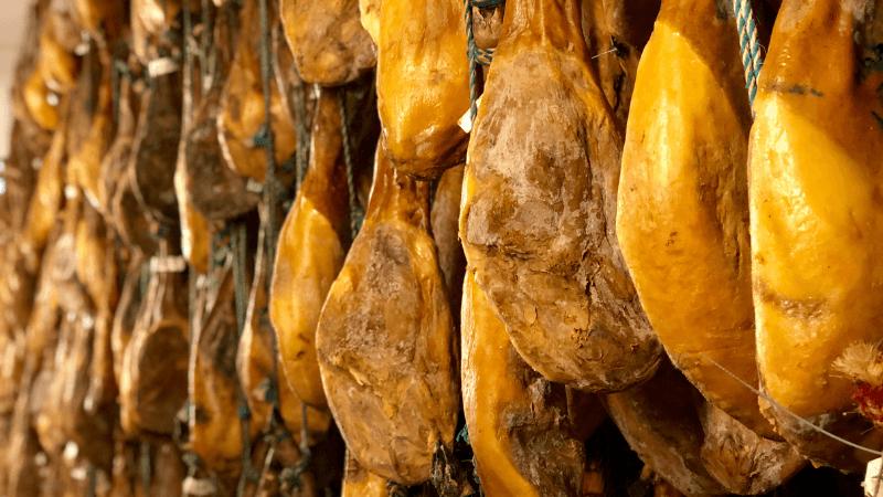 Pasos curacion del jamon iberico